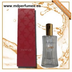 Perfume para mascota hembra Nº 507 AIRECILLO DE LOE de marca blanca equivalente (HEMBRA) 100ml