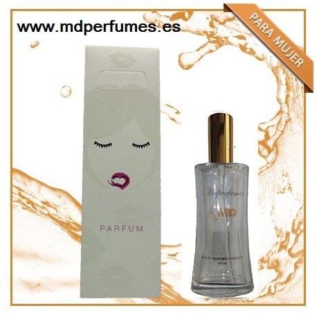 Perfume para mujer Nº416 de marca blanca equivalente VESACHE amarillo diamante 100ml